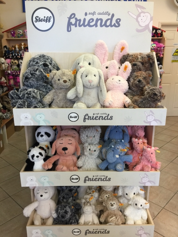 Steiff Soft Cuddly Friends range has arrived!