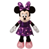 Minnie Mouse Purple Sparkle with sound - Ty
