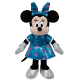 Minnie Mouse Teal Sparkle with sound - Ty