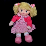 Rag Doll - pink waistcoat - Misc Items - Various Brands