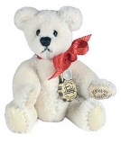 Teddy White 4.5cm - Hermann Teddy Original