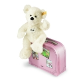 Lotte Teddy Bear in suitcase - Steiff