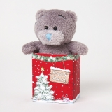 BEAR IN BAG MERRY XMAS - Me to You (Carte Blanche)