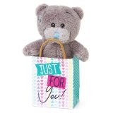Bear in a Bag Just for You - Me to You (Carte Blanche)