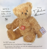 Club Edition Lotta 2017/18 - Hermann Teddy Original