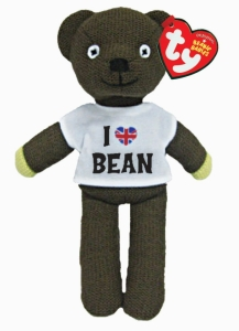 Mr Bean's Teddy with T Shirt