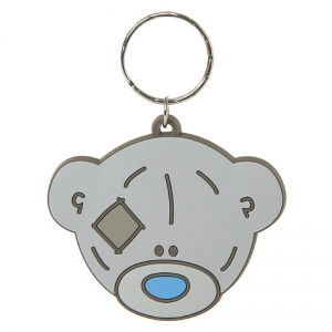 Keyring Bear Head