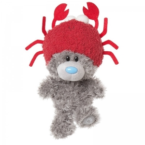 My Dinky Bear with Crab Hat