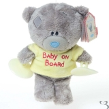 G92W0089 Tiny Tatty Teddy Baby On Board - Me to You (Carte Blanche)