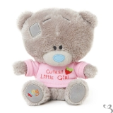 G92W0125 Tiny Tatty Teddy Cutest Little Girl - Me to You (Carte Blanche)