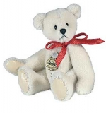 Teddy White 6cm - Hermann Teddy Original