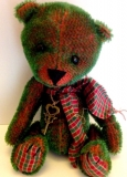 Emerald - Gus Designs Mohair Bears