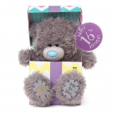 16th Birthday Bear In Box - Me to You (Carte Blanche)