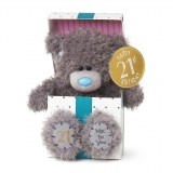 21st Birthday Bear In Box - Me to You (Carte Blanche)