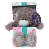 40th Birthday Bear In Box