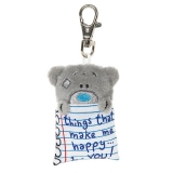 Keyring things that make me happy - Me to You (Carte Blanche)