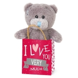 Bear in a Bag Love - Me to You (Carte Blanche)