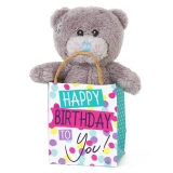 Bear in a Bag Happy Birthday - Me to You (Carte Blanche)