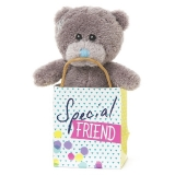 Bear in a Bag Special Friend - Me to You (Carte Blanche)