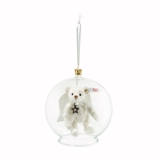 Gabriel Teddy Bear in Bauble Ornament - Steiff