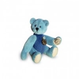 Teddy Light / Dark Blue 5.5cm - Hermann Teddy Original