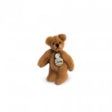 Teddy Gold Brown 4cm - Hermann Teddy Original