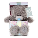 50th Birthday Bear In Box - Me to You (Carte Blanche)