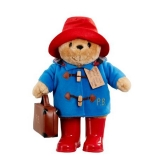 Large Classic Paddington with Boots and Suitcase - Rainbow Designs