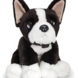 Boston Terrier sitting - Keel Toys Ltd