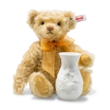 Sunflower Bear with Vase