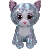 Whimsy Blue Cat - Ty