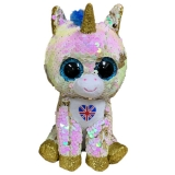 Royal Unicorn with Union Jack - Ty