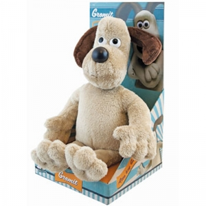 Plush Gromit in a Platform Box