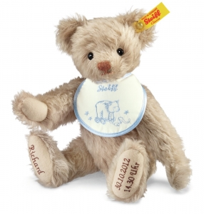 Personalised Teddy Birth - Beige