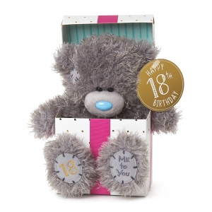 18th Birthday Bear In Box