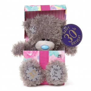 30th Birthday Bear In Box