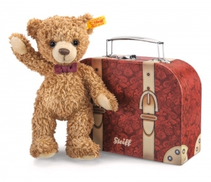 Carlo Teddy Bear in suitcase