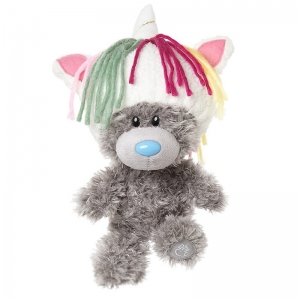My Dinky Bear with Unicorn Hat