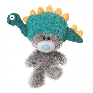 My Dinky Bear with Dinosaur Hat
