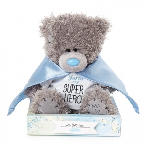 Superhero Bear In Box
